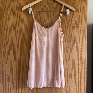 POL NWT ribbed tank •large